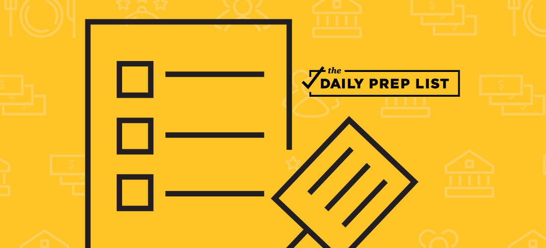 The Daily Prep List Featured Image